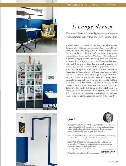 Teenage Boys | Bedroom of the year 2016